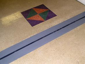 Repaired expansion joint using Belzona 2211 (MP Hi-Build Elastomer) and Belzona 4111 (Magma-Quartz)