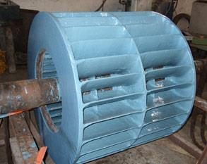 Protection of vacuum pump impeller