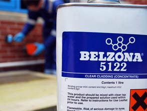 Belzona 5122 (Clear Cladding Concentrate) packaging